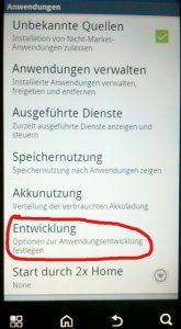 "Motorola Defy+ (MB526) auf Android 4.1.2 ""Jelly Bean"" flashen – Teil 1 – rooten"