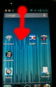 Motorola Defy+ (MB526) CyanogenMod – Build updaten mit dem 'alten' JB-Recovery (blau)