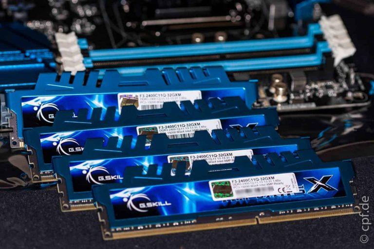 Wir bauen einen Computer – Mainboard und RAM