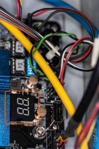 Wir bauen einen Computer – Anschlüsse auf das Mainboard – FrontPanel